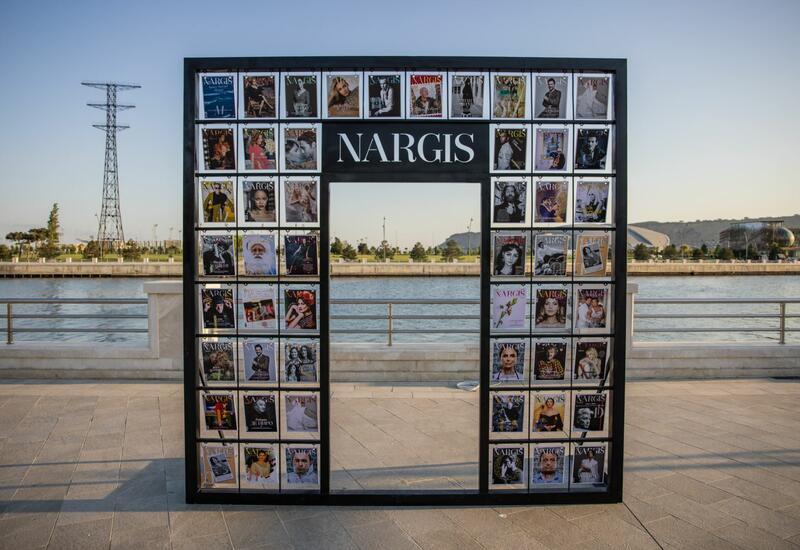 На Бакинском приморском бульваре открылась выставка Reduce, Reuse, Recycle, Respect издательского дома NARGIS