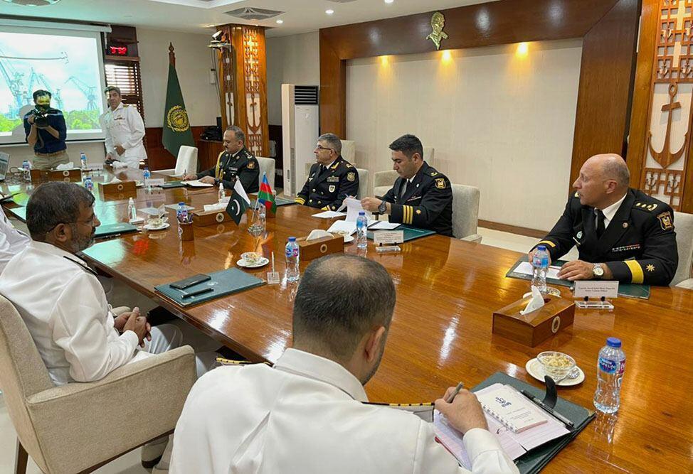 Делегация ВМС Азербайджана провела ряд встреч в Пакистане