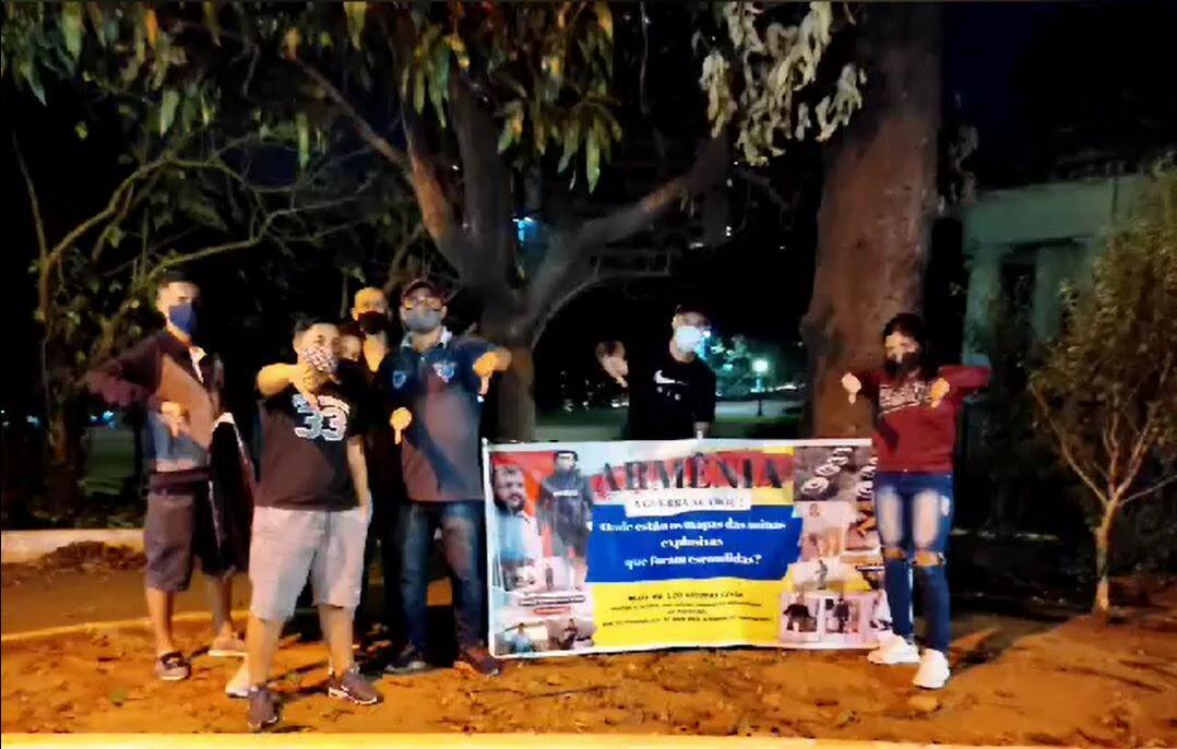 В Бразилии прошла акция протеста против действий Армении