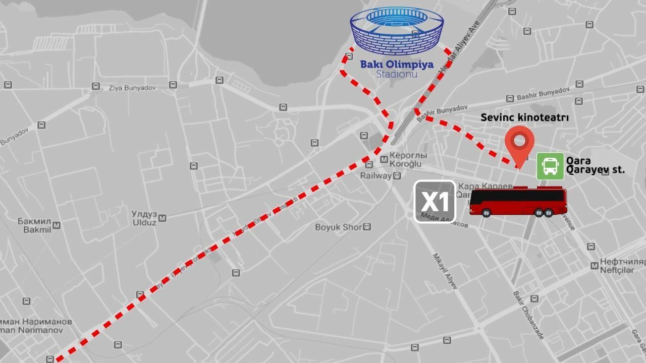 БТА о плане перевозки болельщиков на Евро 2020 в Баку