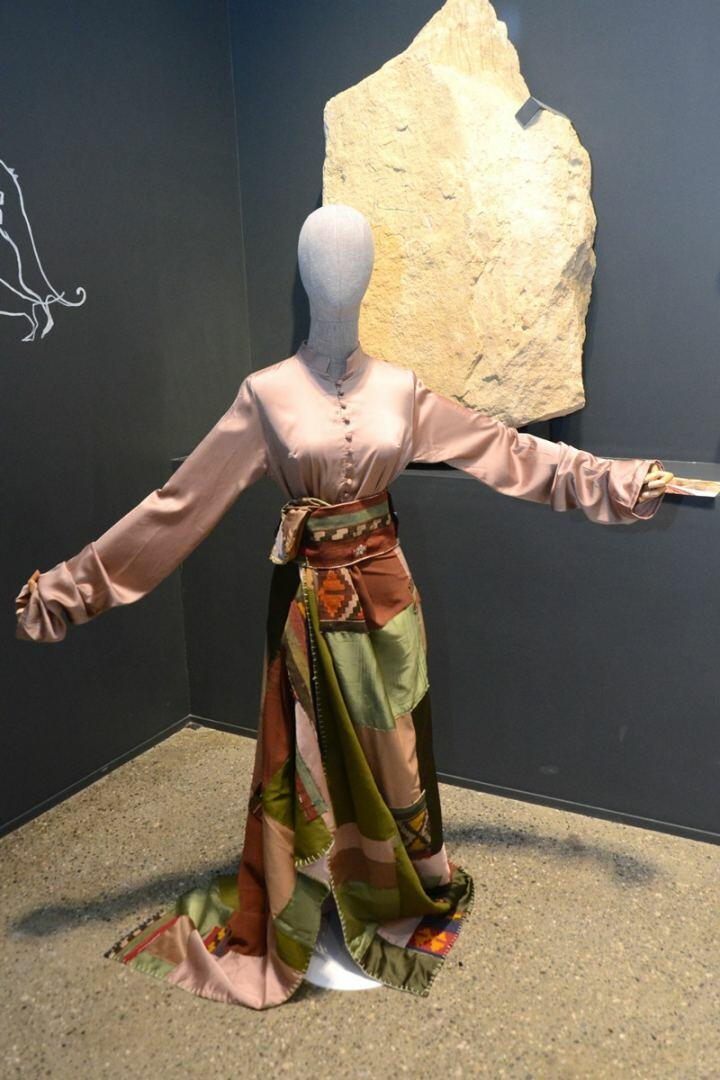 В Баку представлена оригинальная экспозиция устойчивой моды