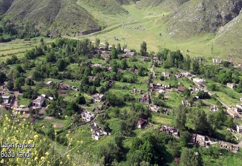 Село Бозлу Лачинского района