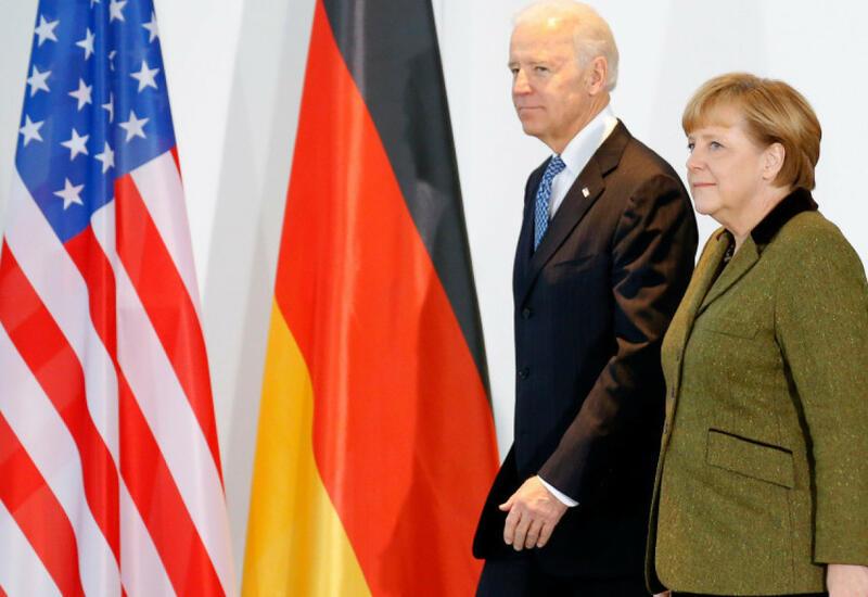Байден проведет встречу с Меркель