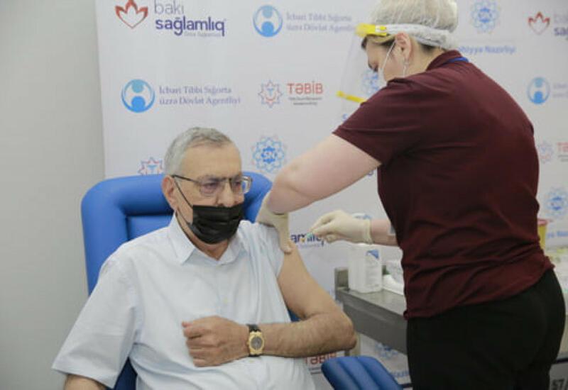 Началась вакцинация олимпийской сборной Азербайджана