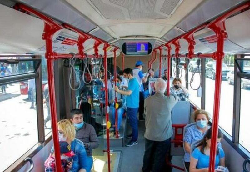 Дорожная полиция Азербайджана предупредила пассажиров общественного транспорта