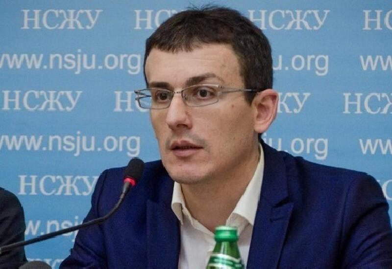 Ukrayna Milli Jurnalistlər Birliyi azərbaycanlı jurnalistlərin həlak olmasına etiraz olaraq bəyanat yayıb - FOTO