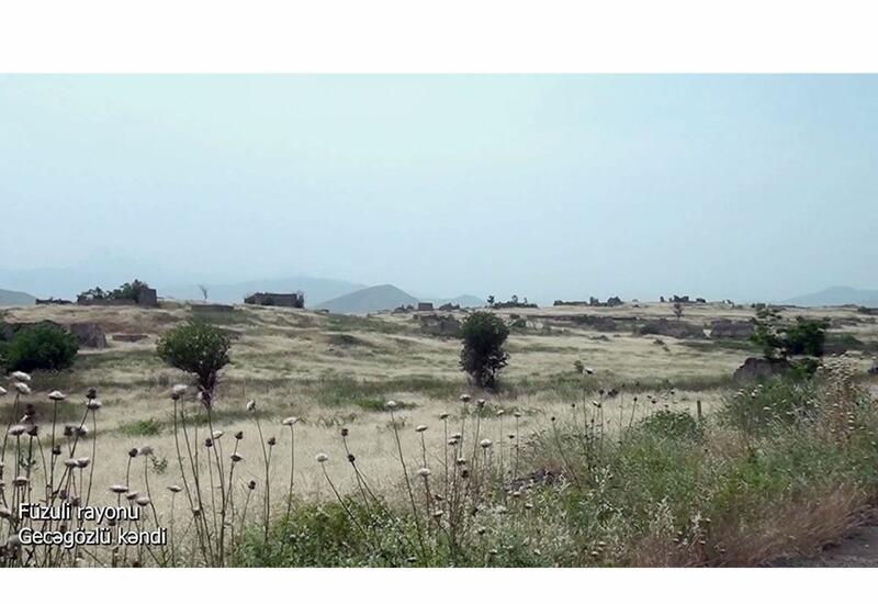 Село Геджагезлю Физулинского района