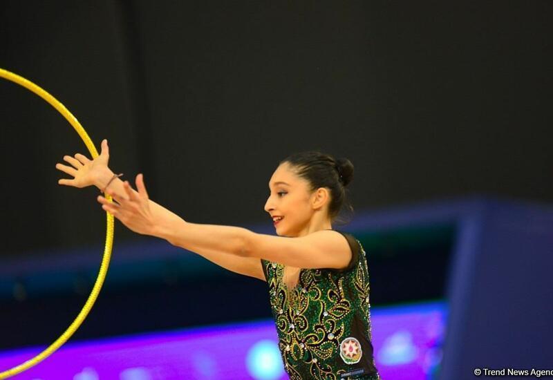Азербайджанские спортсменки вышли в финал чемпионата Европы по художественной гимнастике