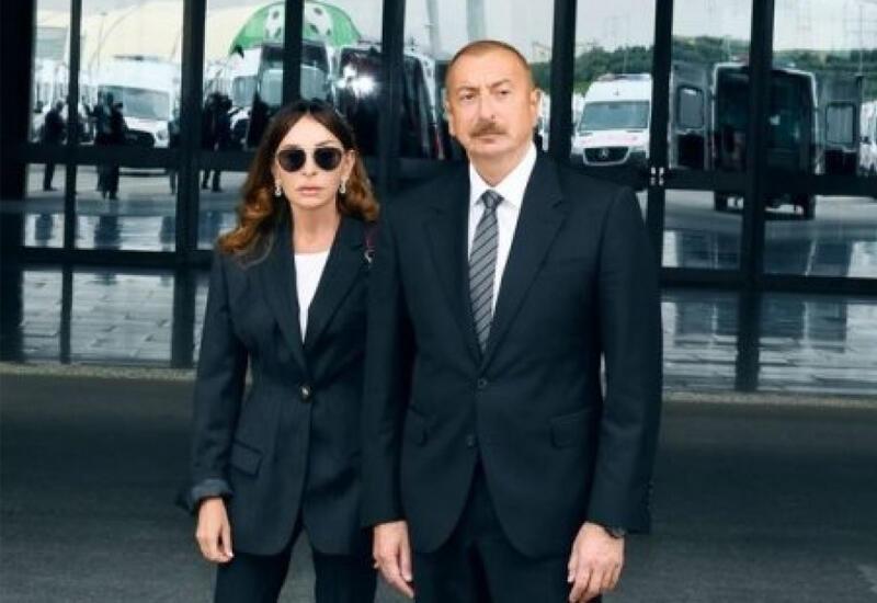 Президент Ильхам Алиев и Первая леди Мехрибан Алиева выразили соболезнования Патриарху Кириллу