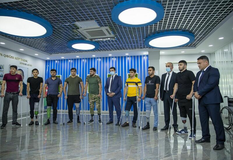 33 ветерана Отечественной войны Азербайджана обеспечены высокотехнологичными протезами