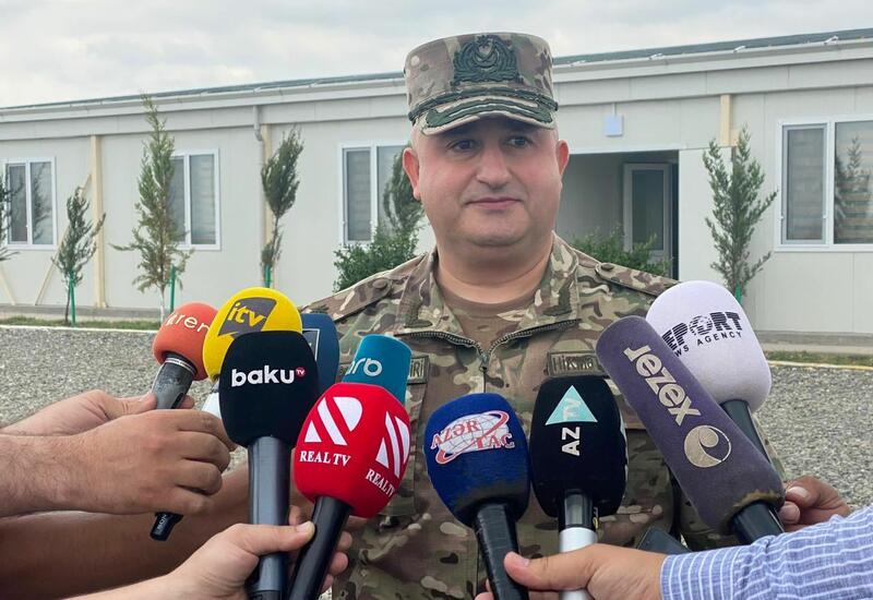Азербайджан продолжит строительство воинских частей на освобожденных территориях
