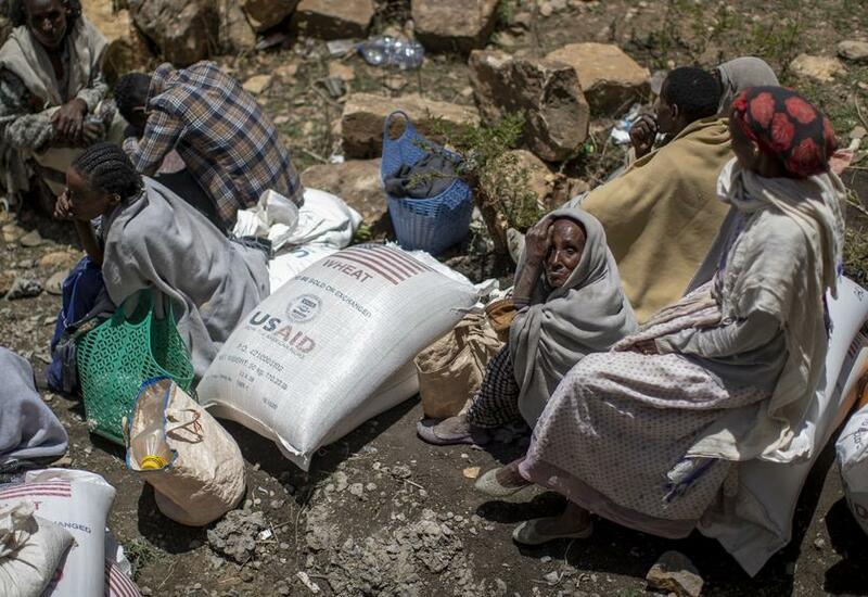Катастрофическая ситуация в Эфиопии