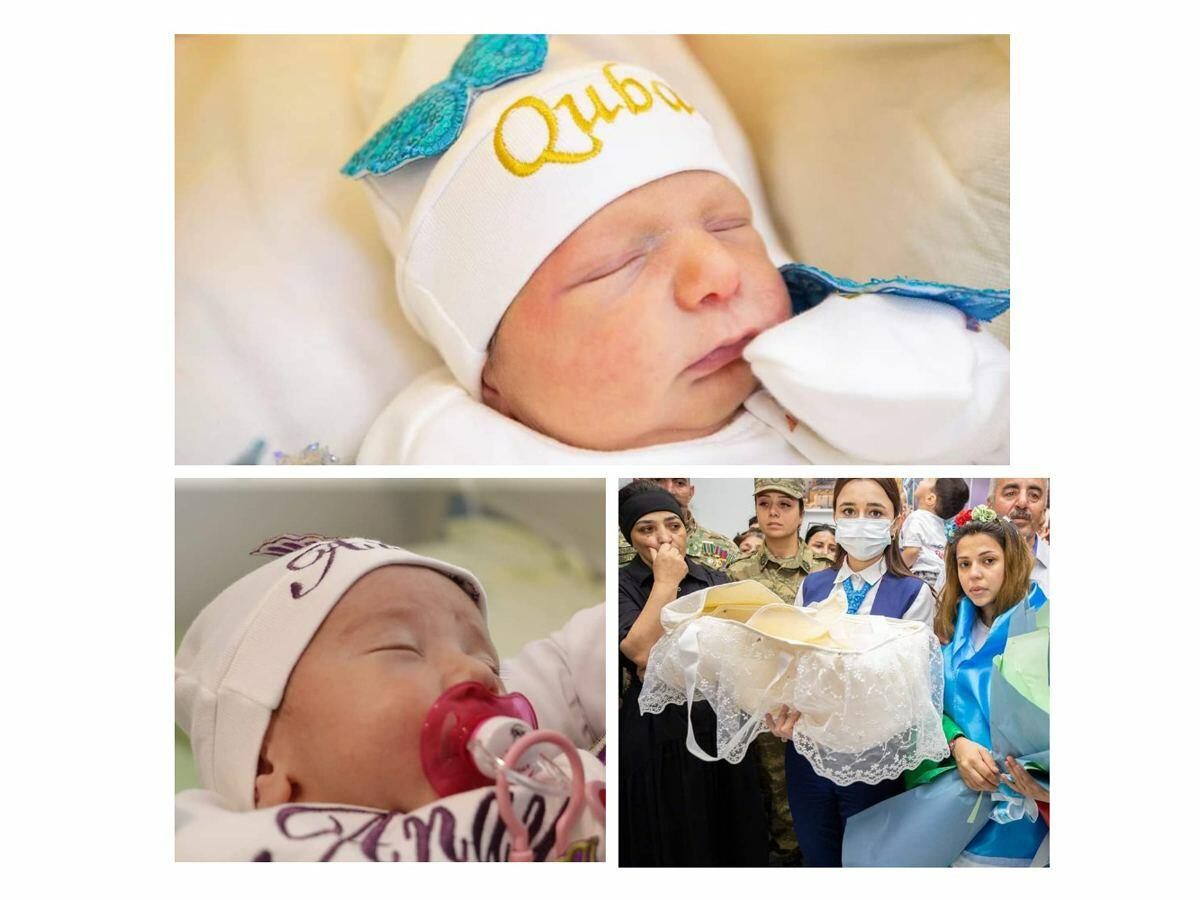 Фонд YAŞAT откроет счета в банке на имена еще трех новорожденных детей шехидов