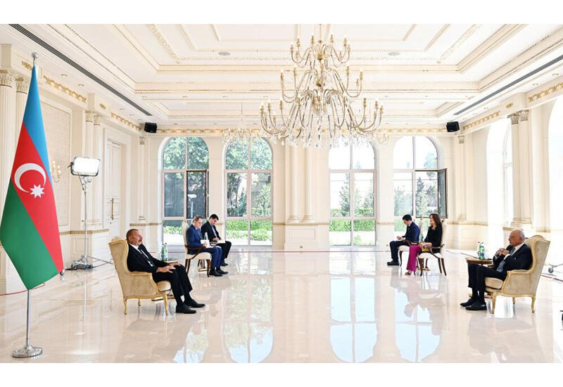 Президент Ильхам Алиев: Италия становится одним из основных рынков для нашего природного газа