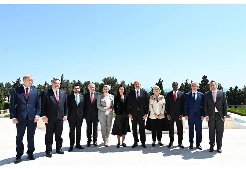 Президент Ильхам Алиев: Если Армения желает мира, они должны начать с нами переговоры о делимитации