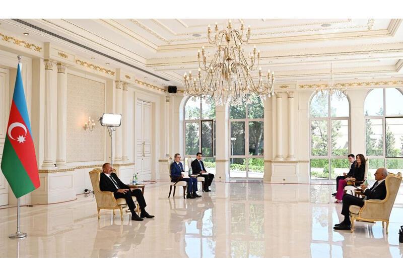 Президент Ильхам Алиев: Многие итальянские компании активно функционируют в Азербайджане