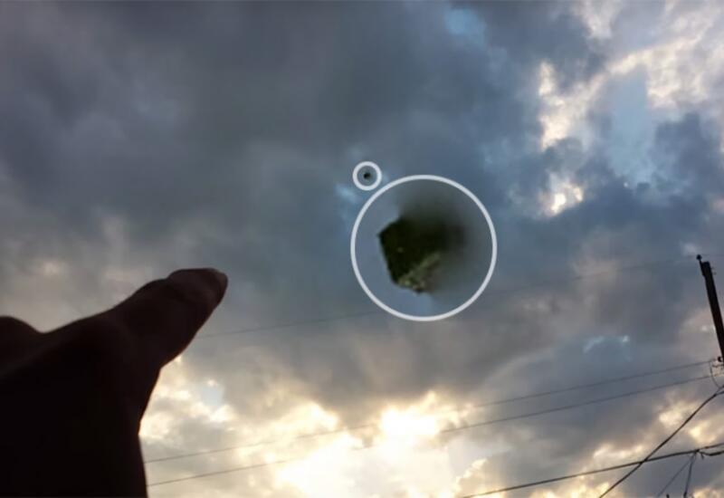 Таинственный объект засняли в небе над Техасом