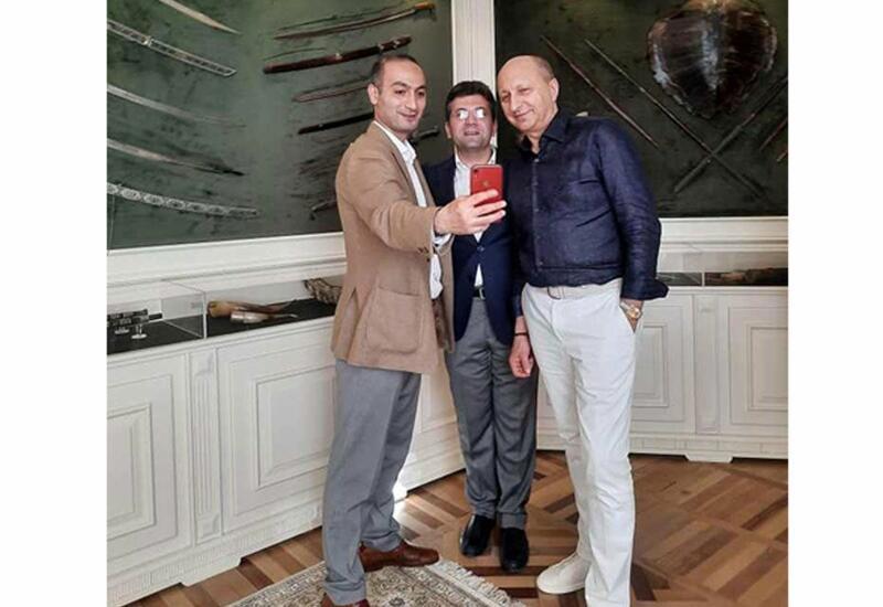 Всемирно известный хореограф посетил Центр творчества Максуда Ибрагимбекова в Баку