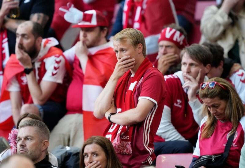 Матч Евро-2020 Дании и Финляндии прерван