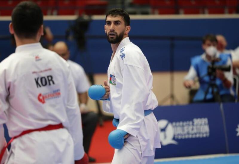 Азербайджанский каратист завоевал олимпийскую лицензию