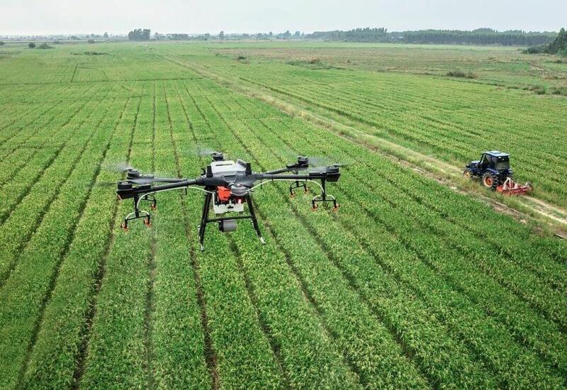 Впервые в Азербайджане начато производство агродронов
