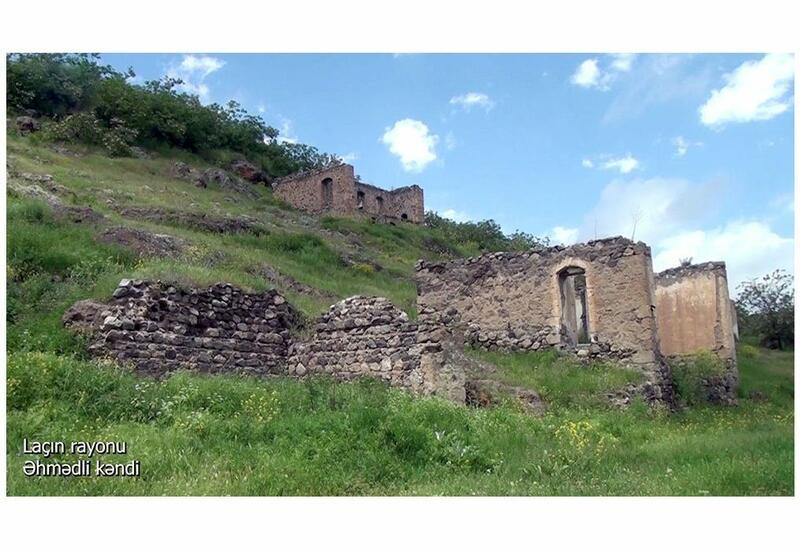 Село Ахмедлы Лачинского района