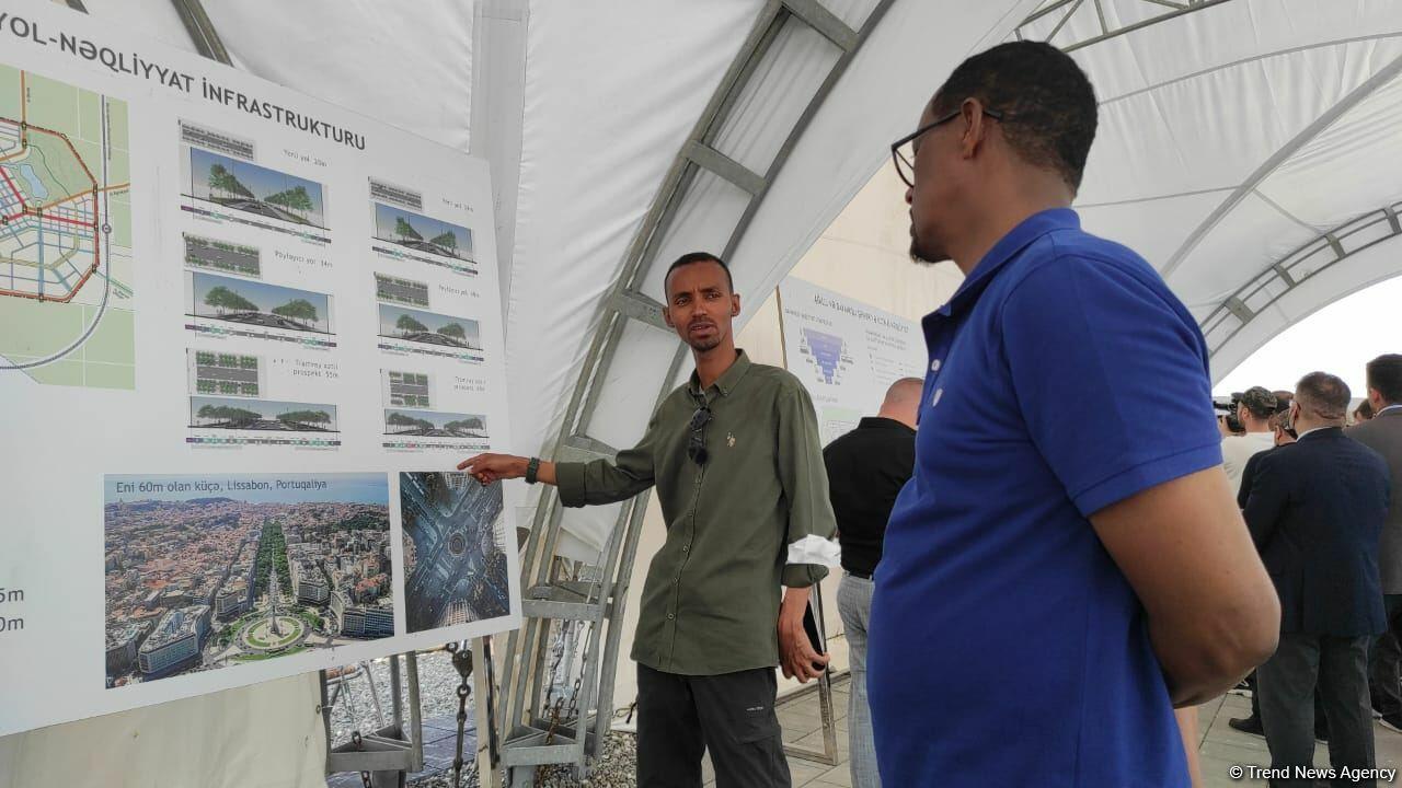 Иностранные дипломаты ознакомились с проектами «Умное село» и «Умный город» в Агдаме