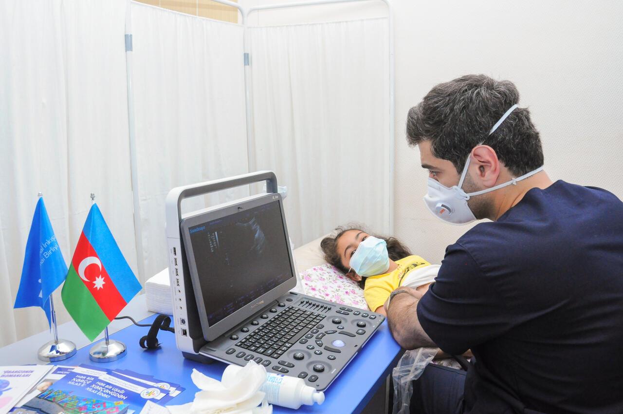 Regionlarda aztəminatlı və digər həssas kateqoriyalara aid ailələrdən olan uşaqlar arasında onkoloji müayinələr aparılır
