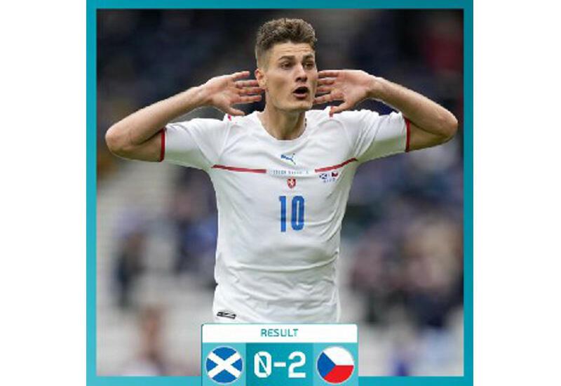 Сборная Чехии обыграла Шотландию