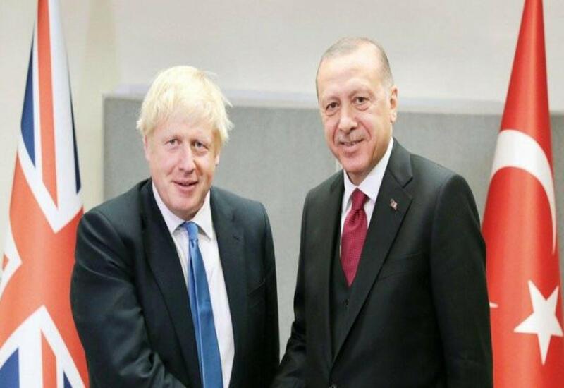 Эрдоган встретился с Борисом Джонсоном