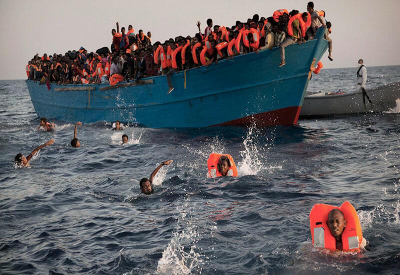 Близ Йемена затонула лодка с сотнями мигрантов