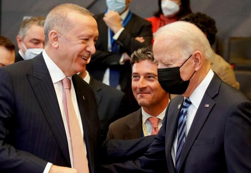 Началась встреча между Эрдоганом и Байденом
