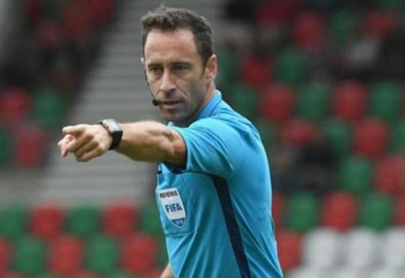 Стали известны арбитры матча Уэльс-Турция в Баку