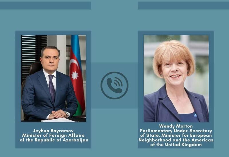 Джейхун Байрамов обсудил с госминистром Великобритании Карабах