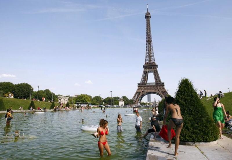 Летний зной накрыл Францию