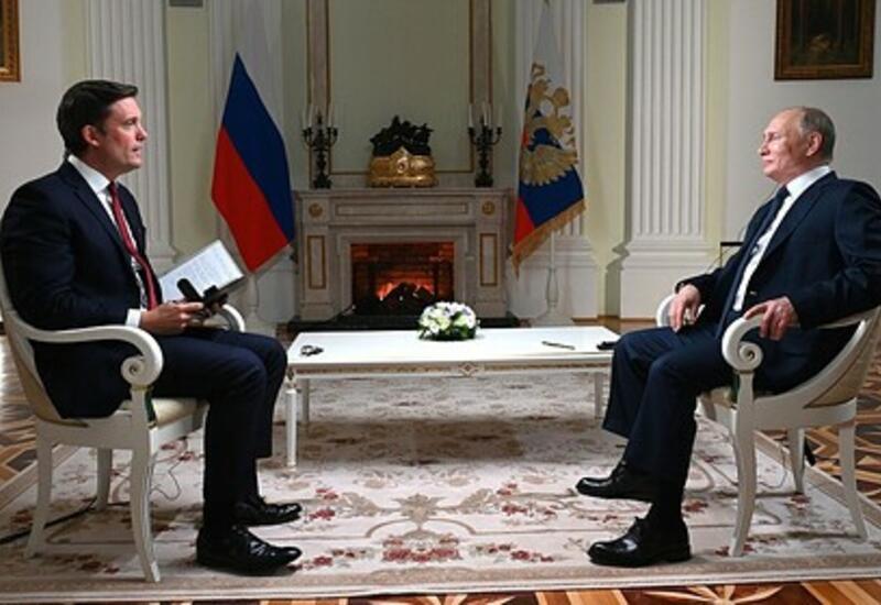 Корреспондент NBC рассказал о разговоре с Путиным без камер
