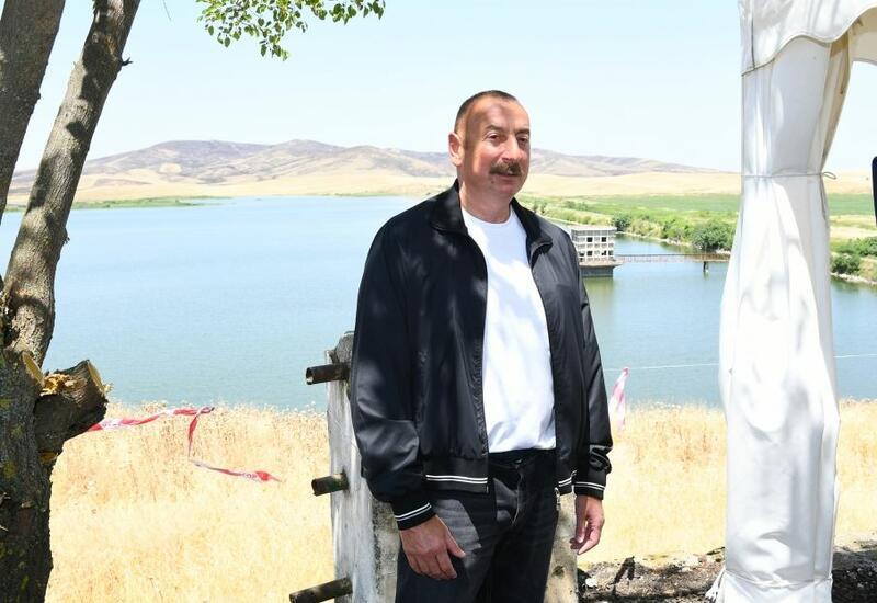 Президент Ильхам Алиев: Готовится карта водных источников всех освобожденных земель