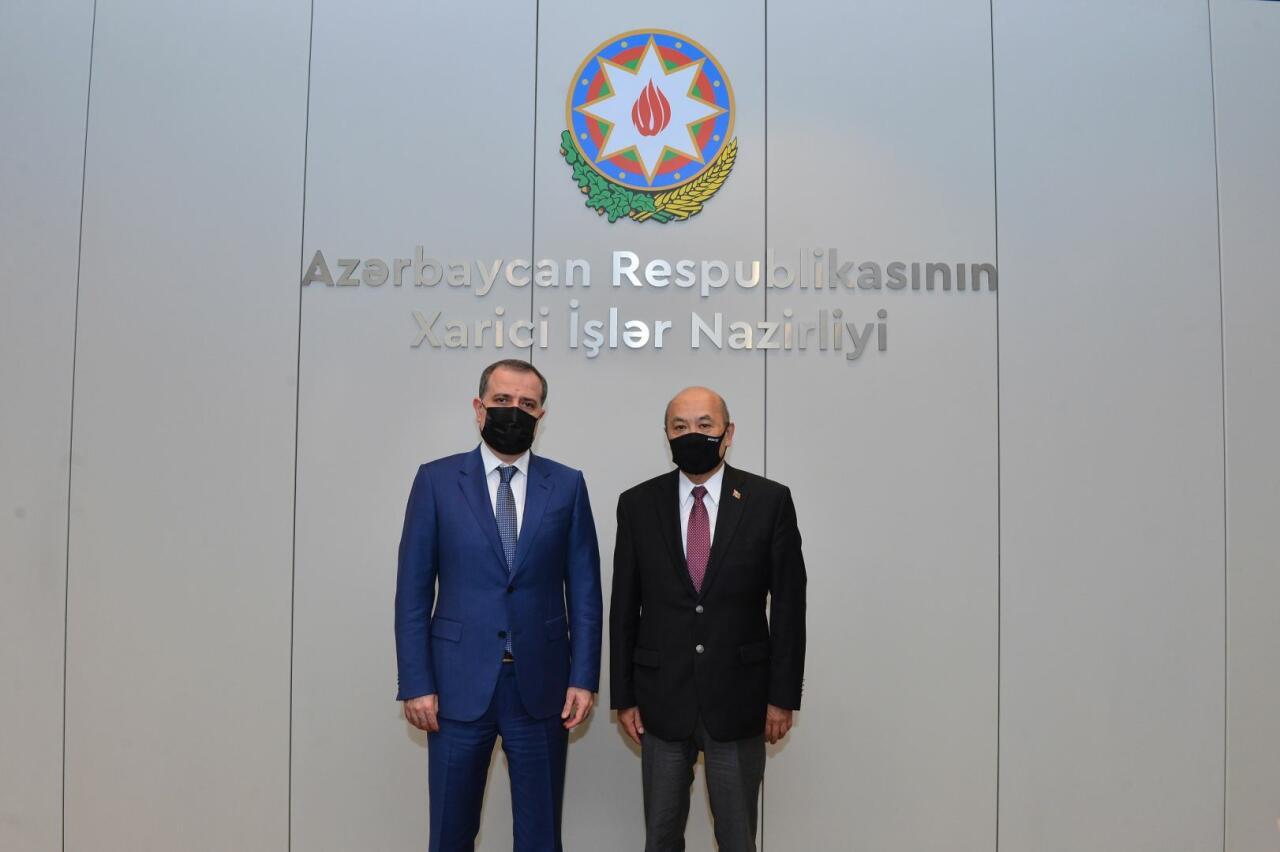 Monqolustan səfiri Ermənistanın Azərbaycana qarşı təcavüzkar siyasəti barədə məlumatlandırılıb