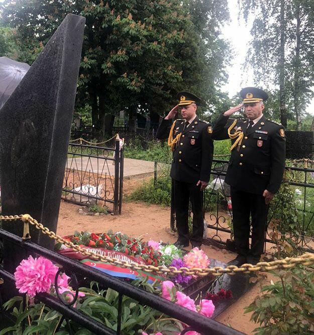 В Беларуси почтили память Национального героя Азербайджана Анатолия Давидовича