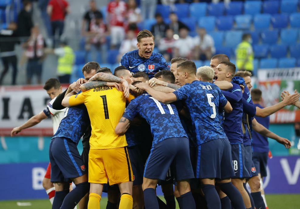 Словакия обыграла Польшу в Петербурге