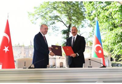 Опубликован полный текст Шушинской декларации о союзнических отношениях Азербайджана и Турции