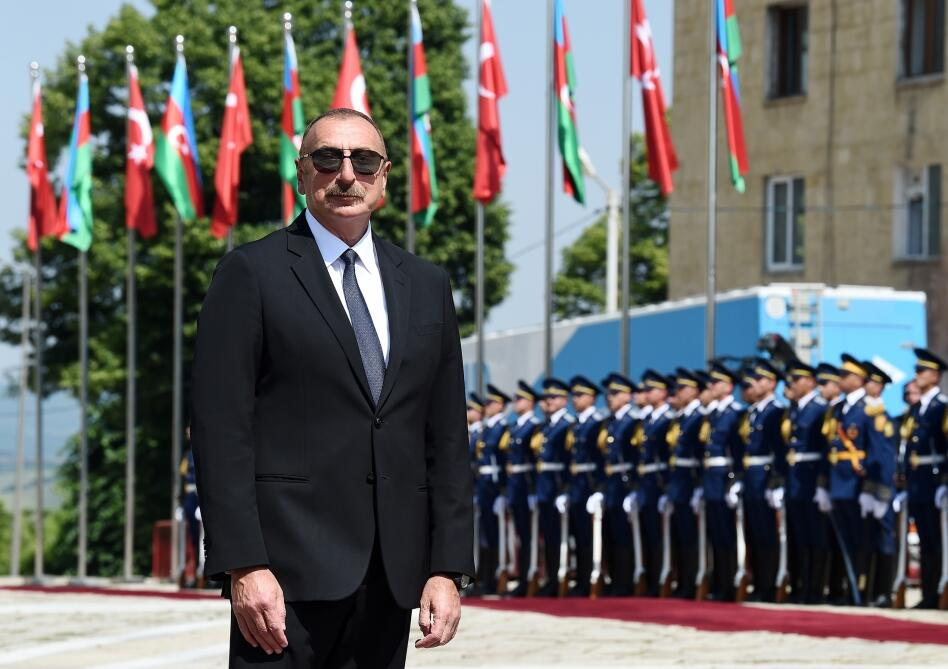 В Шуше прошла церемония официальной встречи Президента Турции Реджепа Тайипа Эрдогана
