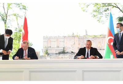 Военно-политическое сотрудничество Азербайджана и Турции не направлено против третьих стран - Шушинская декларация