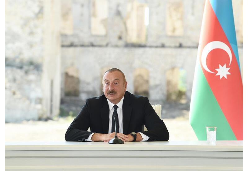 Президент Ильхам Алиев о Шушинской декларации: Сегодня мы демонстрируем уникальный в мировом масштабе образец сотрудничества, взаимодействия, союзничества