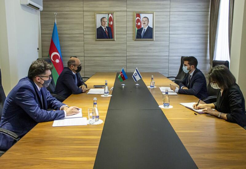 Азербайджан и Израиль обсудили энергетические проекты на освобожденных территориях