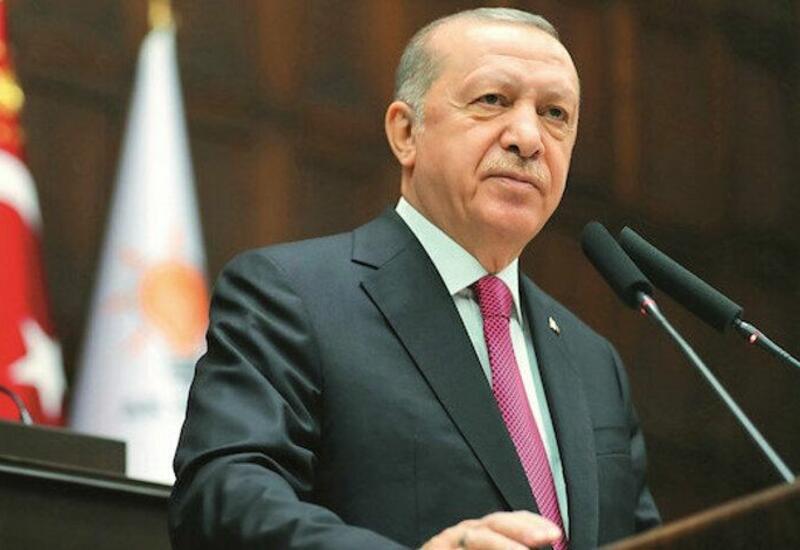 Реджеп Тайип Эрдоган поделился в Twitter публикацией в связи с визитом в Азербайджан