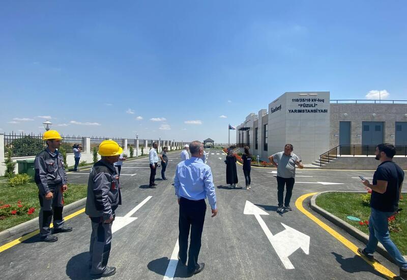 Во всех освобожденных районах Азербайджана строятся новые подстанции