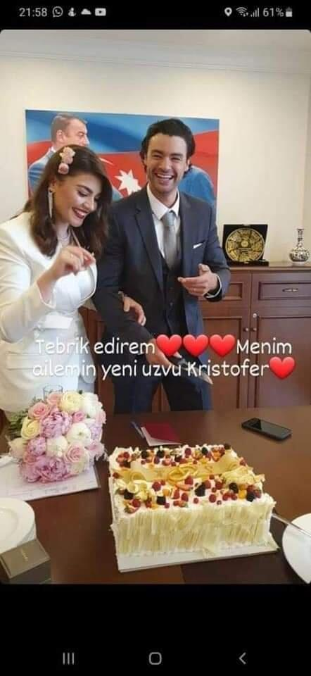 Сын  Жана-Клода Ван Дамма женился на азербайджанке