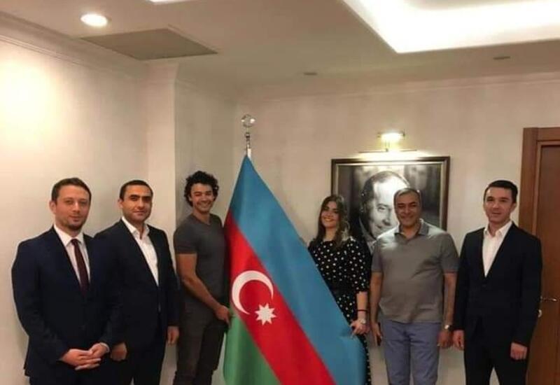 Стало известно, где сочетались браком азербайджанка и сын Жан Клода Вандамма