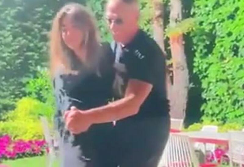 Жан-Клод Ван Дамм танцует с азербайджанской невесткой